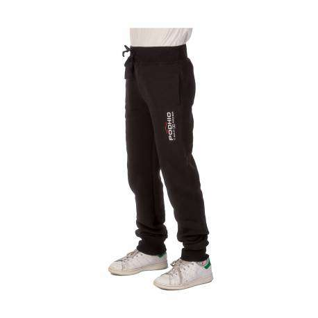 Podhio Pantalone In Felpa Bambino Black