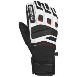 Reusch Guanto Profi Sl Ii Black/White/Fire Red