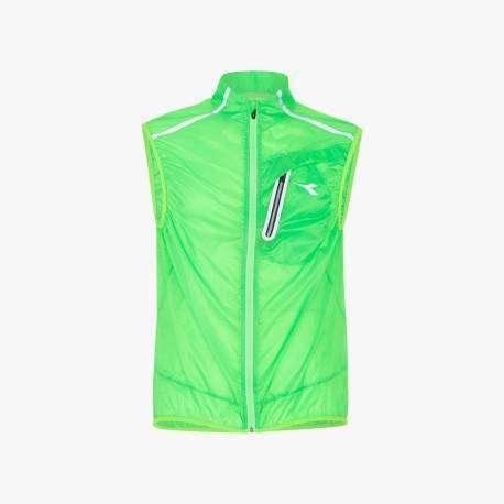 Diadora Gilet Vest Fluo Green