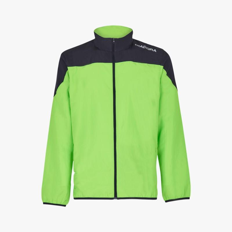 Diadora Giacca X/Run Fluo Green