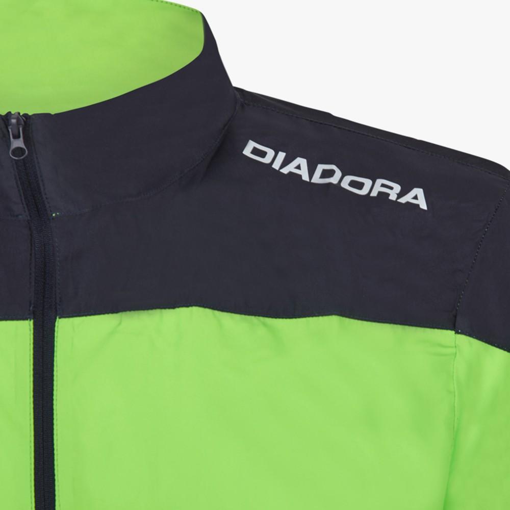 Diadora Giacca XRun Fluo Green 171318 97002 Acquista