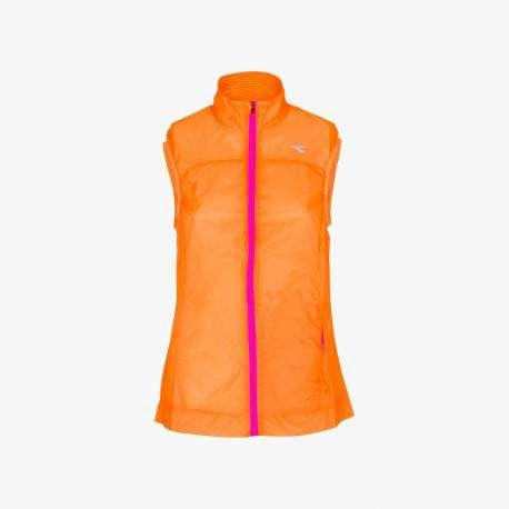 Diadora Gilet Donna L. Vest Arancio