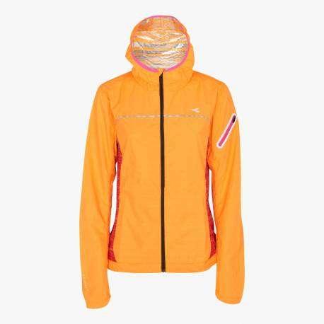 Diadora Giacca Run W Wind Arancio