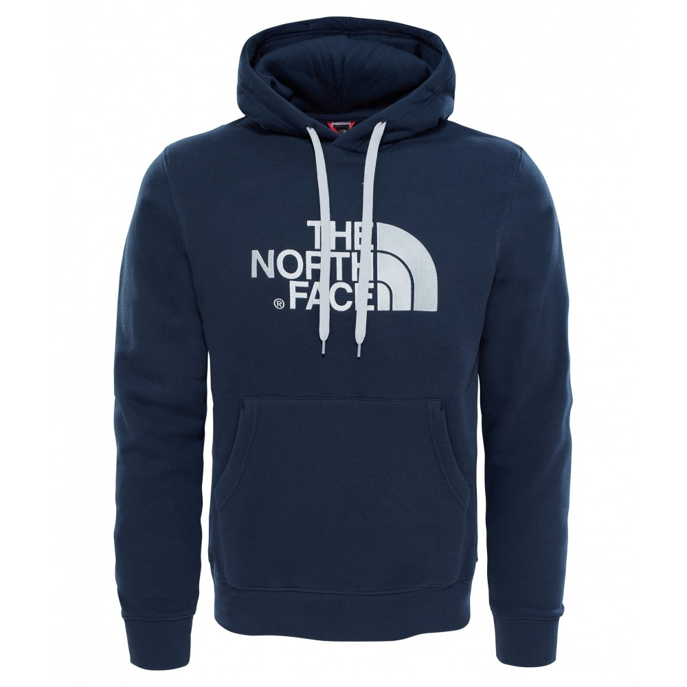 bf74c1e2bc The North Face Felpa Drew Peak Blu Scuro Uomo