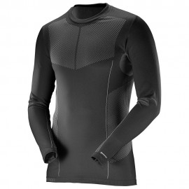 Salomon Maglia Primo Warm Ls Hz Black