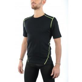 Mico Sport T-Shirt Merino 3704 Nero