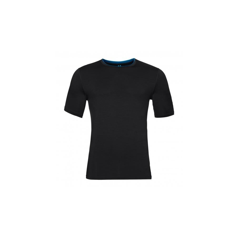 Odlo T Shirt Natural Merino Black
