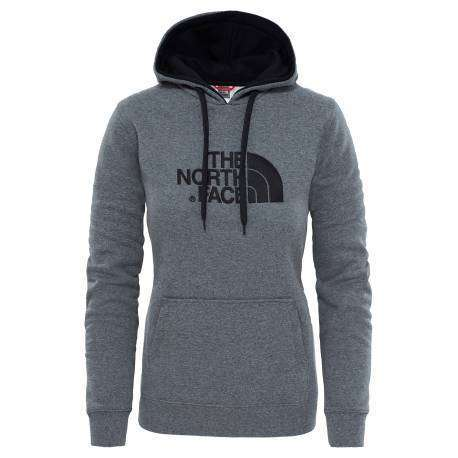 The North Face Felpa Donna Drew Peak Tnf Medium Grey