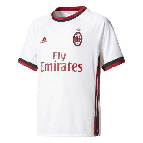 Adidas T-Shirt bambino Mm Ac Milan Away  Rosso/Nero