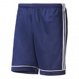 Adidas Short Squadra Team  Blu/Bianco