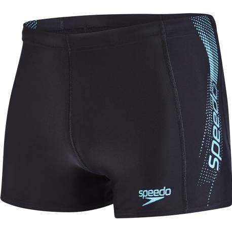 Speedo Parigamba Train Logo Black/Turq
