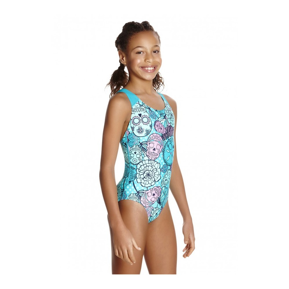b1c939ec6e15 Speedo Costume Bambina Tribe Idol Jade/Mint 68-07386B850 - Acquista ...