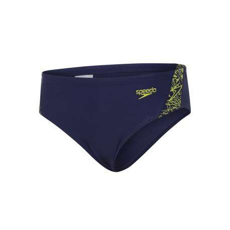 Speedo Slip Bambino Boom 6,5cm Navy/Lime