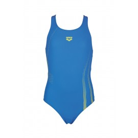 Arena Costume Bambina Train Shadow Blue/Yellow