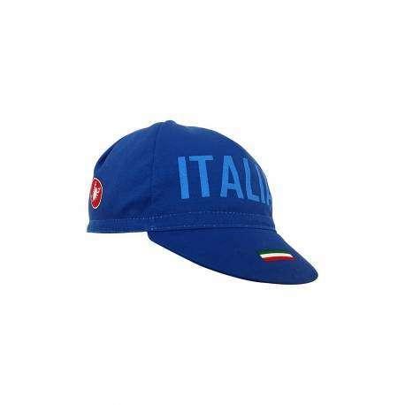 Castelli Cappellino Italia Ita Blu