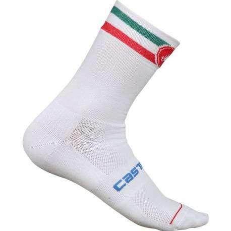 Castelli Calze Italia 13 White