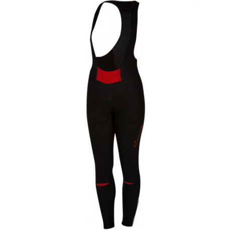 Castelli Salopette Donna Chic Black/Red