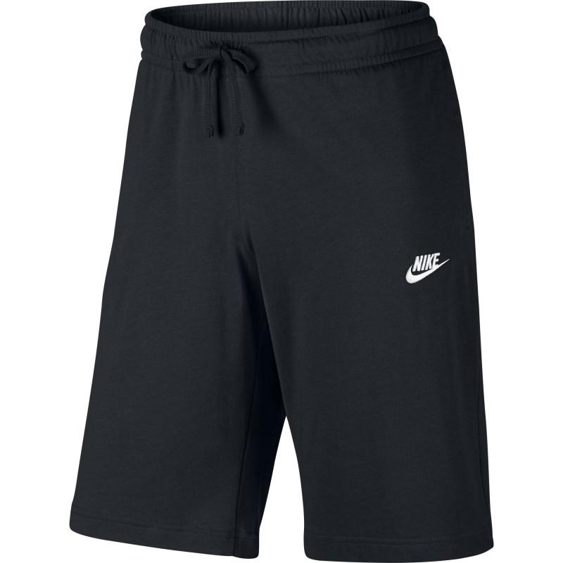 81bb8e893d92 Nike Pantaloncino Palestra Sportswear Jersey Nero Uomo 804419-010 ...
