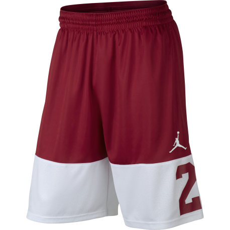 Nike Short Rise 23 Rosso/Bianco