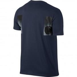 Nike T-Shirt Stampa Foto Jordan Grigio Obsidian