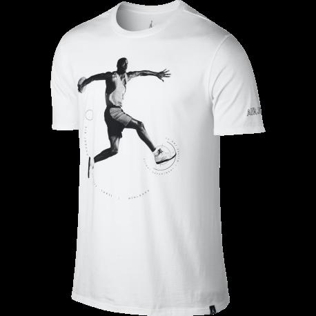 Nike T-shirt Jordan Bianco