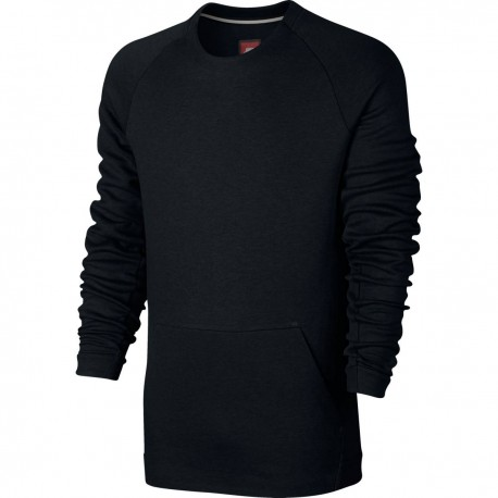 Nike Felpa Giro Marsupio Tech Fleece Black