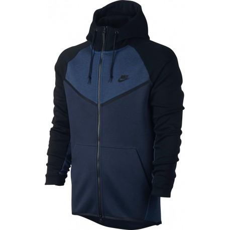 Nike Felpa Girocollo S/Cappuccio Nero
