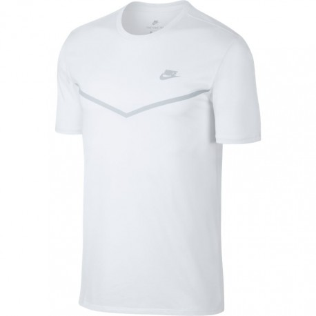Nike T-Shirt Tech Fleece Bianco