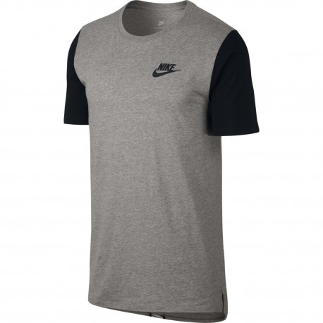 Nike T-Shirt Mm Advance Grigio
