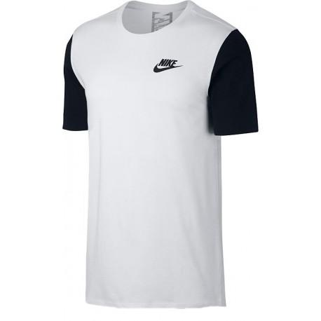 Nike T-shirt Mm Advance Bianco