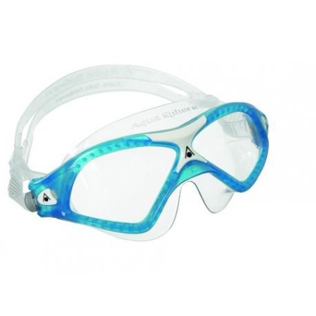 Aqua Sphere Maschera Seal Xp 2 Clear Lens Blu