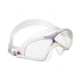 Aqua Sphere Maschera Donna Seal Xp 2 Clear Lens Bianco