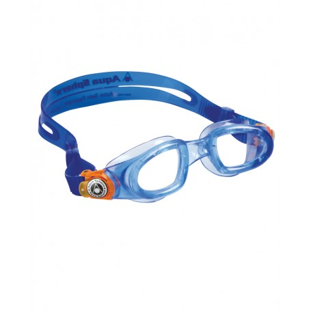 Aqua Sphere Occhialino Kid Moby Blue/Orange