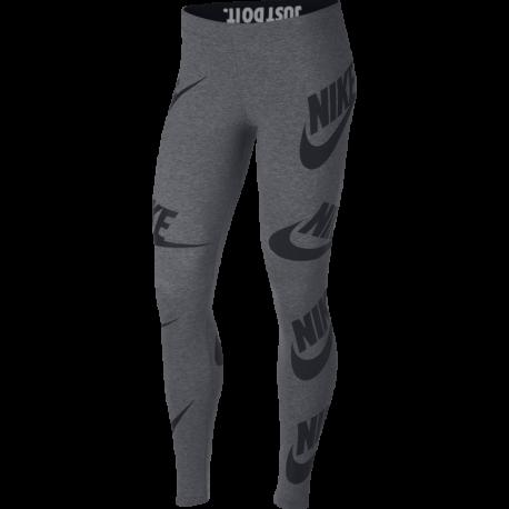 Nike Legging Big Logo Donna Grigio