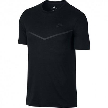 Nike T-Shirt Mm tech Fleece Nero