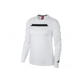 Nike T-Shirt Donna Tech Fleece Bianco