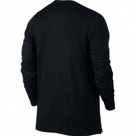 Nike T-Shirt Manica Lunga Training Jordan Nero