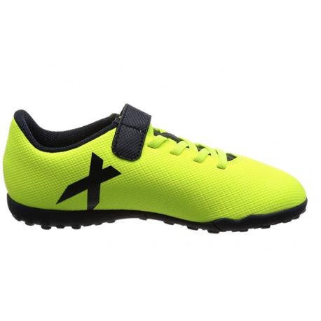 Adidas Scarpa Junior X 17.4 TF Giallo/Nero