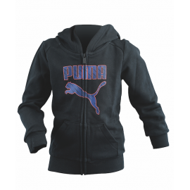 Puma Felpa Jr Cap/Zip Boy 37 Black