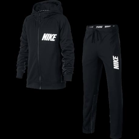 Nike Tuta Boy Poly Black
