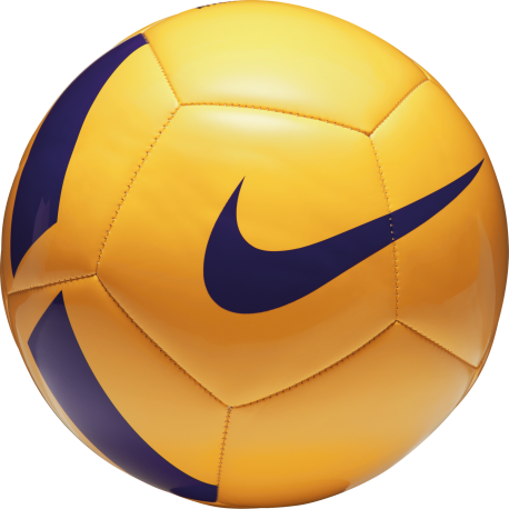 Nike Pallone Pitch Team Giallo/Viola