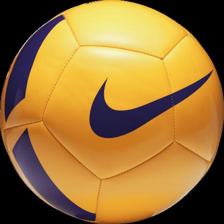Nike Pallone Pitch Team Giallo/Viola