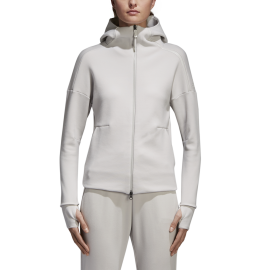 Adidas Felpa Donna Zone 2.0 White