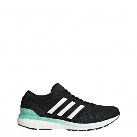 Adidas Adizero Boston Donna CBlack/Ftwwht