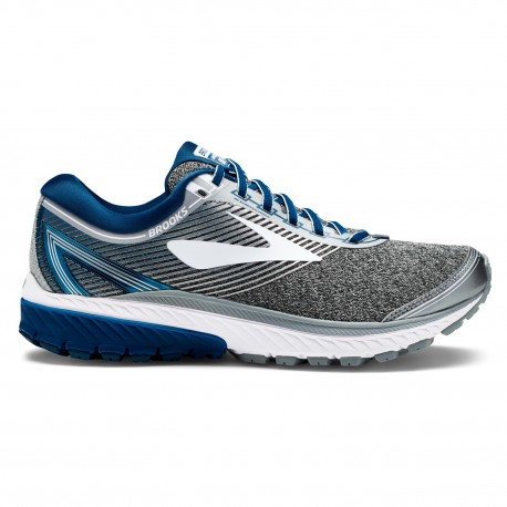 Brooks Ghost 10 Silver/Blue