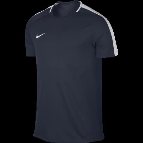 Nike T-Shirt Mm Dry Top Academy Blu/Bianco