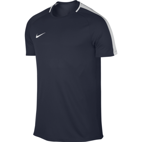Nike T-Shirt Mm Dry Top Academy Blu/Bianco