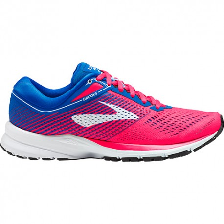 Brooks Ravenna Launch 5 Pink/Blue ...