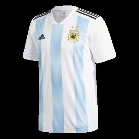 Adidas T-Shirt Mm Argentina Home Bianco/Azzurro