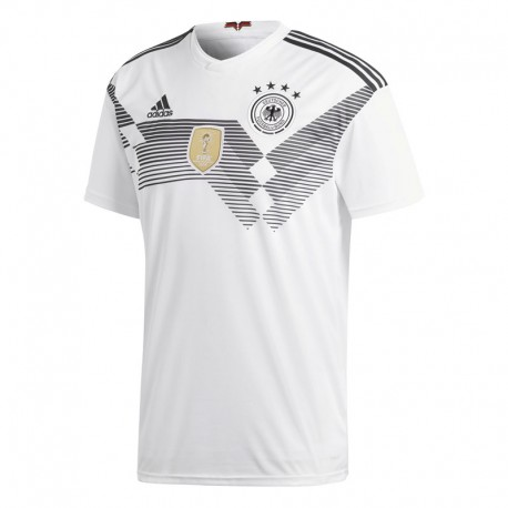 Adidas T-Shirt Mm Germania Home Bianco/Nero